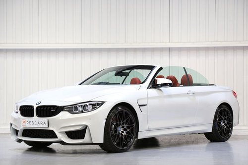 2018 BMW M4 Convertible Competition Package - One Owner  For Sale (picture 2 of 6)