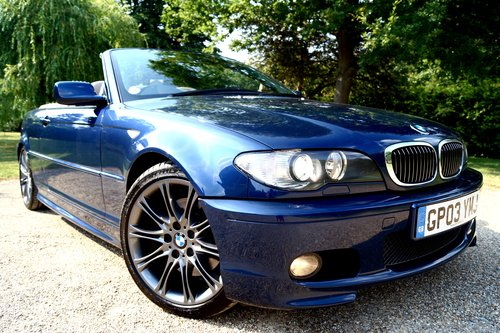 2004 BMW 330ci M Sport convertible.1 former keeper, with FSH SOLD (picture 2 of 6)