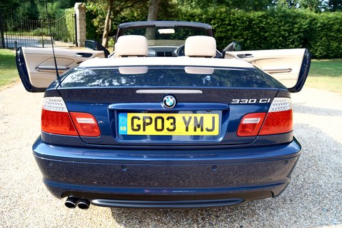 2004 BMW 330ci M Sport convertible.1 former keeper, with FSH SOLD (picture 6 of 6)