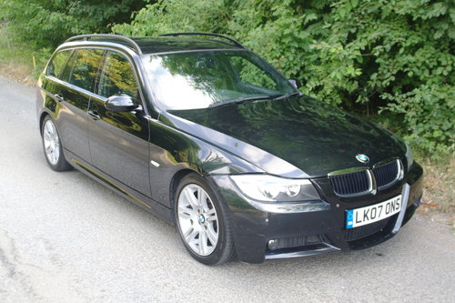 2007 BMW 320i M Sport Touring Auto. Hi Spec. Bargain £1295.. SOLD (picture 1 of 6)