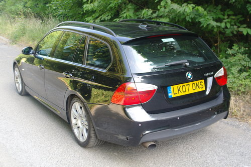2007 BMW 320i M Sport Touring Auto. Hi Spec. Bargain £1295.. SOLD (picture 6 of 6)