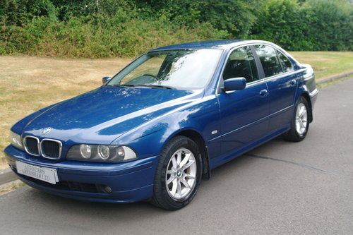 BMW 525i SE. Steptronic Auto. Low Miles. FSH. Nice Example.. SOLD (picture 1 of 6)