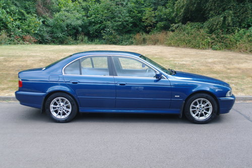BMW 525i SE. Steptronic Auto. Low Miles. FSH. Nice Example.. SOLD (picture 2 of 6)