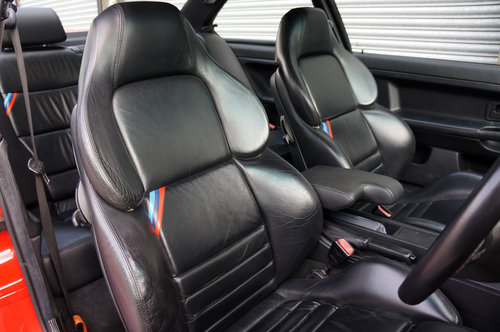 1995 BMW E36 M3 3.0 Coupe, Hellrot, Black Vader Seats, 111k. SOLD (picture 6 of 6)