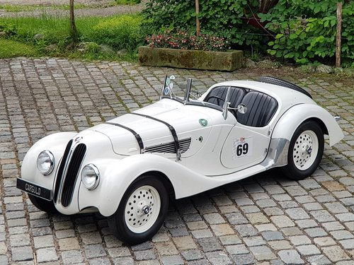 1937 BMW 328 Original Roadster, prominent pre-owners! For Sale (picture 1 of 6)