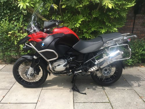 2012 BMW R1200 GS Adventure TU, 1 Owner, FSH SOLD (picture 3 of 6)