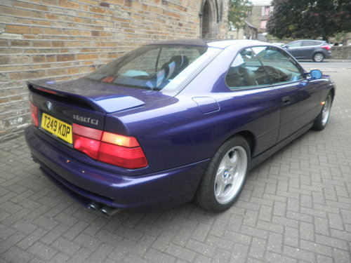 1999 BMW 840 Ci Individual Sport Auto For Sale (picture 2 of 6)