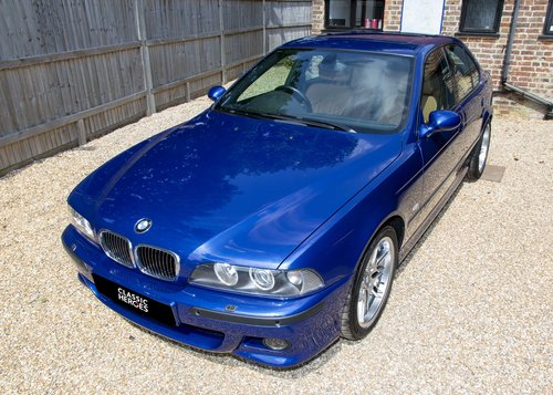 2003 BMW E39 M5 V8 Only 27,000 miles SOLD (picture 1 of 6)