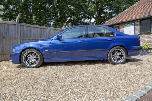 2003 BMW E39 M5 V8 Only 27,000 miles SOLD (picture 2 of 6)