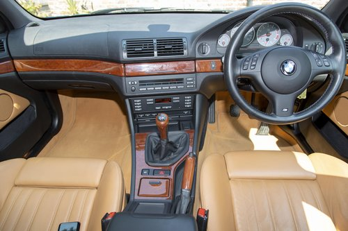 2003 BMW E39 M5 V8 Only 27,000 miles SOLD (picture 3 of 6)