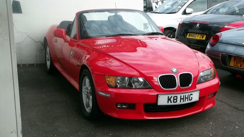 2001 Z3 ROADSTER HARD AND SOFT TOP SOLD (picture 1 of 6)