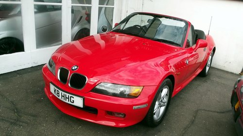 2001 Z3 ROADSTER HARD AND SOFT TOP SOLD (picture 2 of 6)