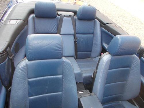 1998 bmw 323i convertable auto rare colour combination  For Sale (picture 1 of 6)