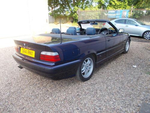 1998 bmw 323i convertable auto rare colour combination  For Sale (picture 3 of 6)