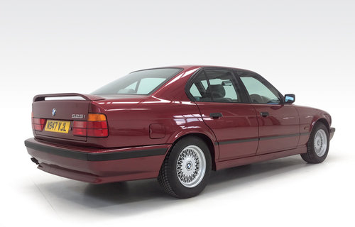 1994 BMW 525i SE auto just 22,900 miles DEPOSIT TAKEN SOLD (picture 2 of 6)
