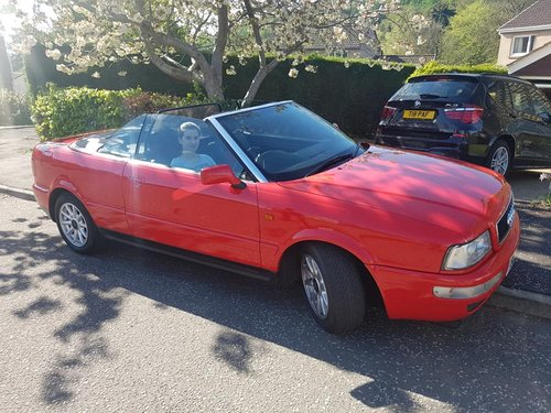Audi Cabroliet 1998 For Sale (picture 1 of 4)