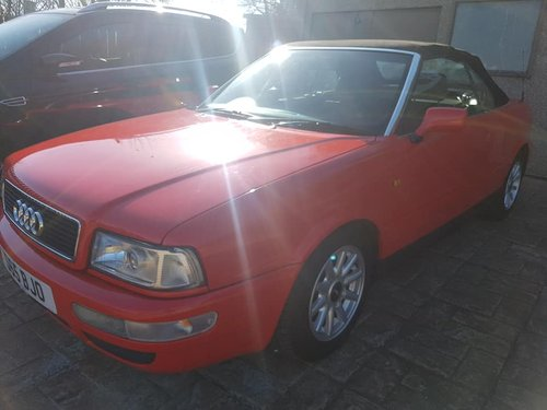 Audi Cabroliet 1998 For Sale (picture 4 of 4)