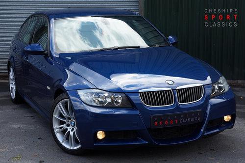 2008 BMW 335d M Sport Auto 4dr, Le Mans Blue, Cream Leather, FSH. SOLD (picture 1 of 6)