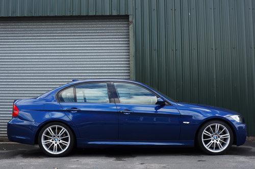 2008 BMW 335d M Sport Auto 4dr, Le Mans Blue, Cream Leather, FSH. SOLD (picture 2 of 6)