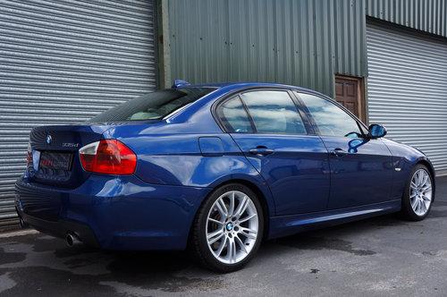 2008 BMW 335d M Sport Auto 4dr, Le Mans Blue, Cream Leather, FSH. SOLD (picture 3 of 6)