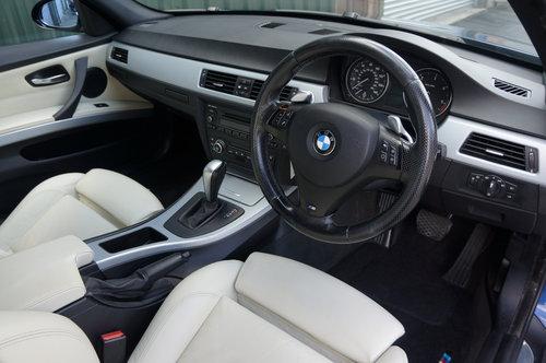 2008 BMW 335d M Sport Auto 4dr, Le Mans Blue, Cream Leather, FSH. SOLD (picture 5 of 6)