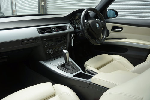 2008 BMW 335d M Sport Auto 4dr, Le Mans Blue, Cream Leather, FSH. SOLD (picture 6 of 6)