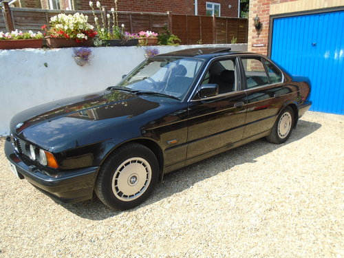 1992 BMW 518i  E34 to collector SOLD (picture 1 of 6)