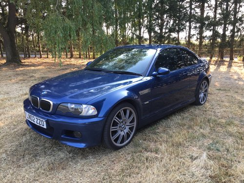 2002 BMW M3 Manual For Sale (picture 1 of 6)