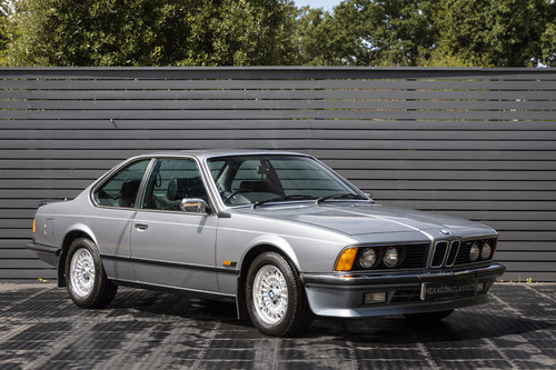 1986 BMW 635 CSI SOLD (picture 1 of 6)
