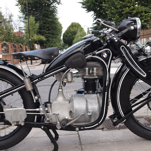 1936 BMW R4 400cc 4 Speed, RESERVED FOR YOHEI. For Sale (picture 5 of 6)