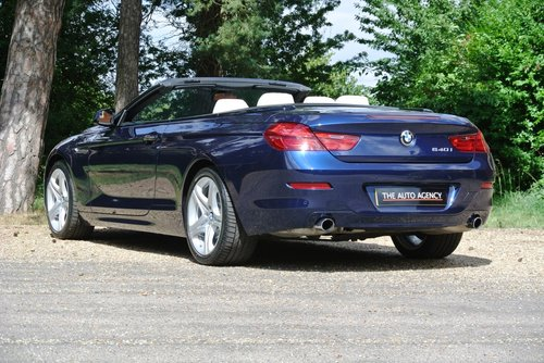 2012 BMW 640i SE CONVERTIBLE **EXCLUSIVE WHITE LEATHER** For Sale (picture 2 of 6)