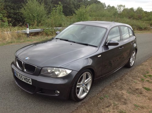 2005 BMW 130i M SPORT FBMWSH JUST SERVICED AT SYTNER SOLD (picture 2 of 6)