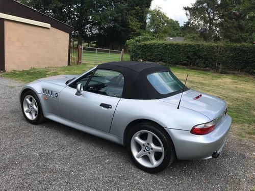 1998 'S' BMW Z3 1.9 16V ROADSTER SILVER 62K F.S.H STUNNING! SOLD (picture 2 of 6)