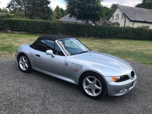 1998 'S' BMW Z3 1.9 16V ROADSTER SILVER 62K F.S.H STUNNING! SOLD (picture 3 of 6)