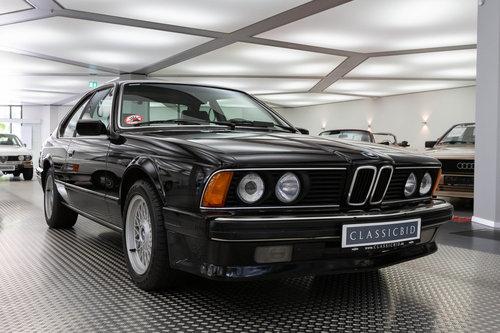 1989 BMW 635 CSi E24 LHD For Sale (picture 1 of 6)