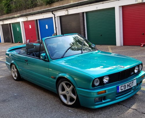 1988 BMW E30 325i Convertible  Low mileage SOLD (picture 2 of 6)