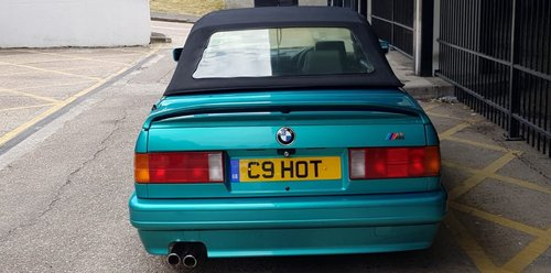 1988 BMW E30 325i Convertible  Low mileage SOLD (picture 4 of 6)