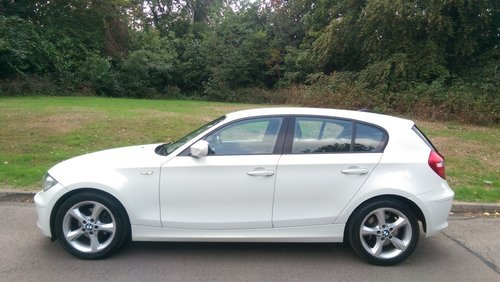BMW 118d Sport..F/BMW/S/H.. Low Miles.. Nice Spec SOLD (picture 1 of 3)