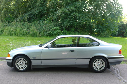 BMW E36 325i Coupe.. Auto.. Low Miles + FSH.. M-Tech Extras SOLD (picture 1 of 6)