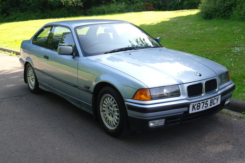 BMW E36 325i Coupe.. Auto.. Low Miles + FSH.. M-Tech Extras SOLD (picture 2 of 6)