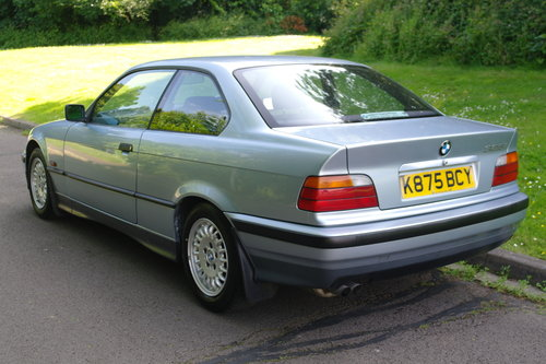 BMW E36 325i Coupe.. Auto.. Low Miles + FSH.. M-Tech Extras SOLD (picture 5 of 6)