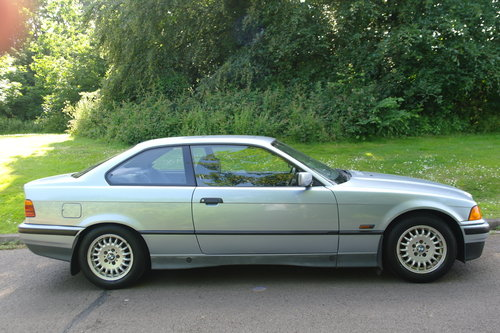 BMW E36 325i Coupe.. Auto.. Low Miles + FSH.. M-Tech Extras SOLD (picture 6 of 6)