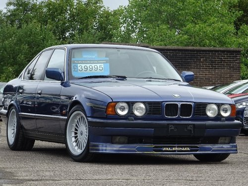 1991 BMW Alpina B10 null 3.5 4dr E34 B10 ALPINA 3.5 BITURBO LHD For Sale (picture 1 of 6)