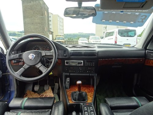 1991 BMW Alpina B10 null 3.5 4dr E34 B10 ALPINA 3.5 BITURBO LHD For Sale (picture 4 of 6)
