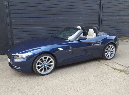 2011 BMW Z4 2.5 23i S-DRIVE Highline Edition (GOOD SPEC: F.s.h.)  For Sale (picture 3 of 6)