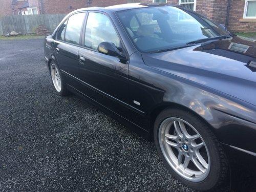 2002 E39 BMW 530i Sport Auto Champagne Edition  For Sale (picture 3 of 6)