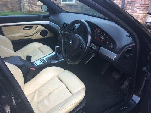 2002 E39 BMW 530i Sport Auto Champagne Edition  For Sale (picture 4 of 6)