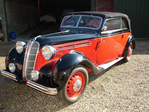 1937 A rare opportunity to buy a convertible 320 series BMW  For Sale (picture 1 of 6)