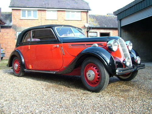 1937 A rare opportunity to buy a convertible 320 series BMW  For Sale (picture 2 of 6)