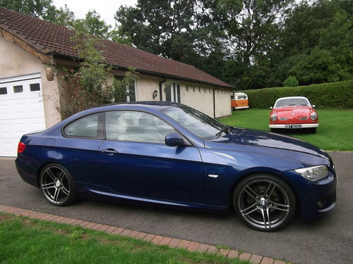 2010 BMW Coupe 320 M Sport, Diesel, 6 Speed Manual  SOLD (picture 5 of 6)